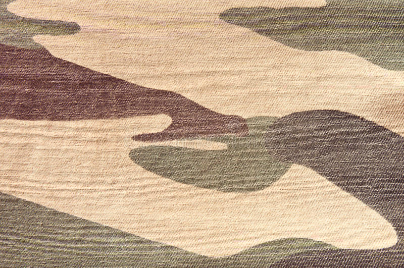 Camouflage pattern. Texture of soldier cloth background, Camouflage pattern stock photo