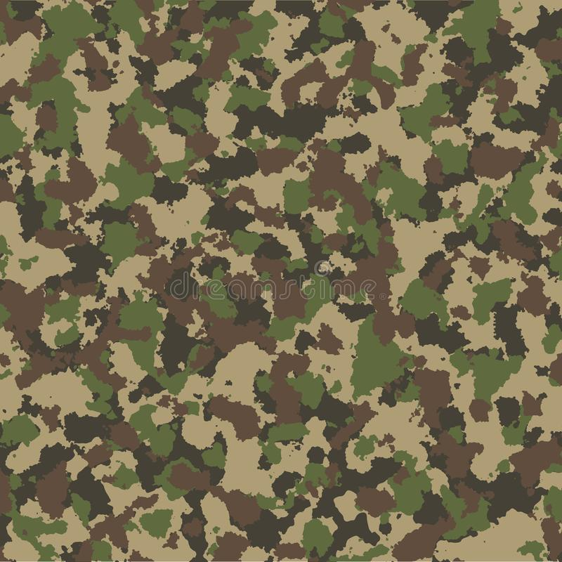 Camouflage seamless pattern. Vector background. royalty free illustration