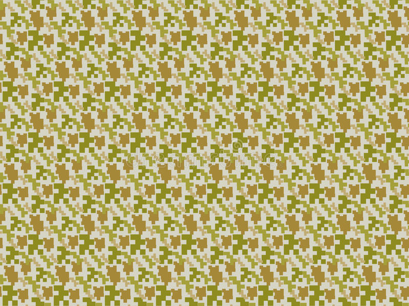Camouflage seamless pattern. Military endless background, texture. Masking fabric. Vector illustration. royalty free illustration