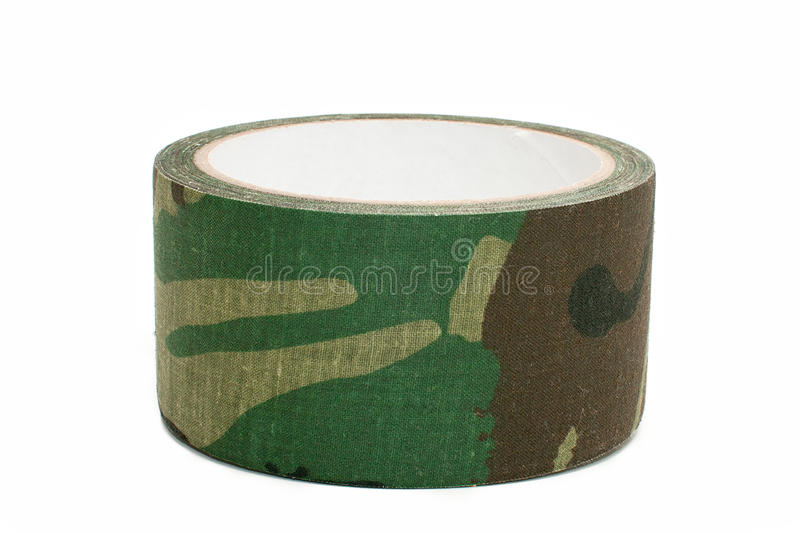Camouflage tape royalty free stock image