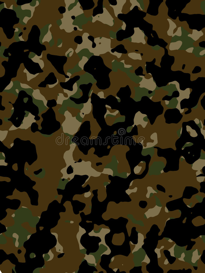 Free Camouflage Texture Royalty Free Stock Photos - 1852208