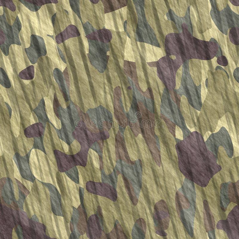 Camouflage - texture sans joint de fond de Tileable illustration stock