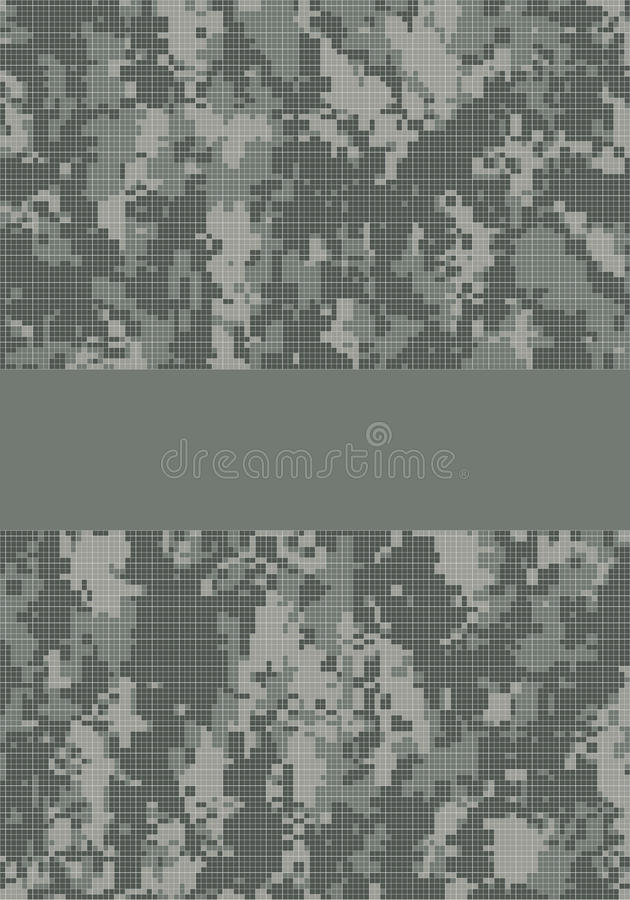 Download Camouflage title page stock vector. Illustration of camouflage - 9656194