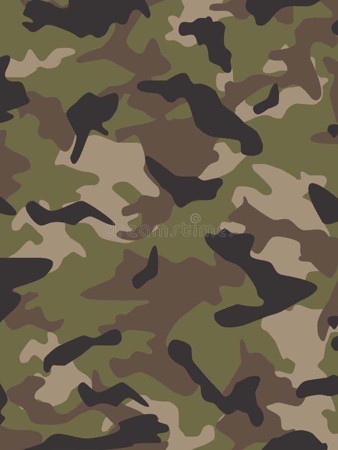 Camouflage van de Nok van de V.S. de Multi stock illustratie