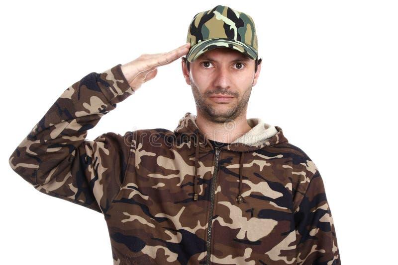 Camouflaged zdjęcie royalty free