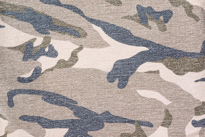 Camouflagestof stock foto