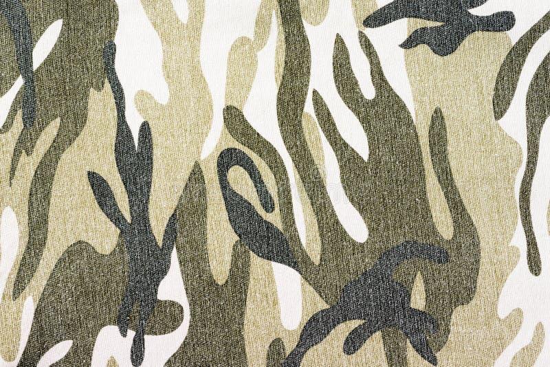 Camouflagestof royalty-vrije stock afbeeldingen