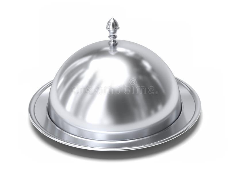 Campânula de prata ilustração royalty free