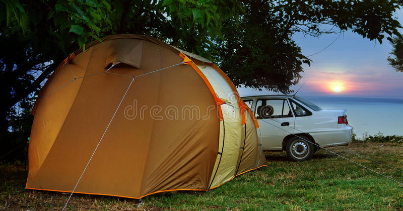 Download Camp stock image. Image of living, field, outdoor, expedition - 20487007