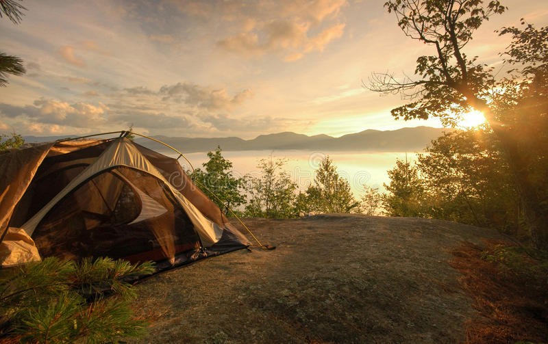 Download Camp stock image. Image of boundless, equipment, stay - 27254703