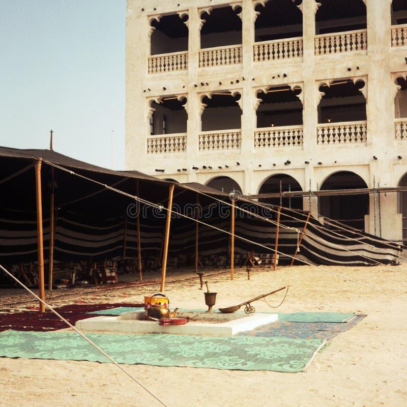Camp bédouin arabe photographie stock libre de droits