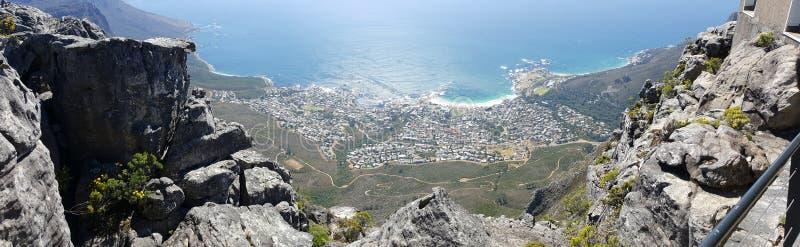 Camp& x27 ; baie Capetown de s image stock