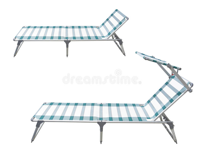 Camp beds stock images