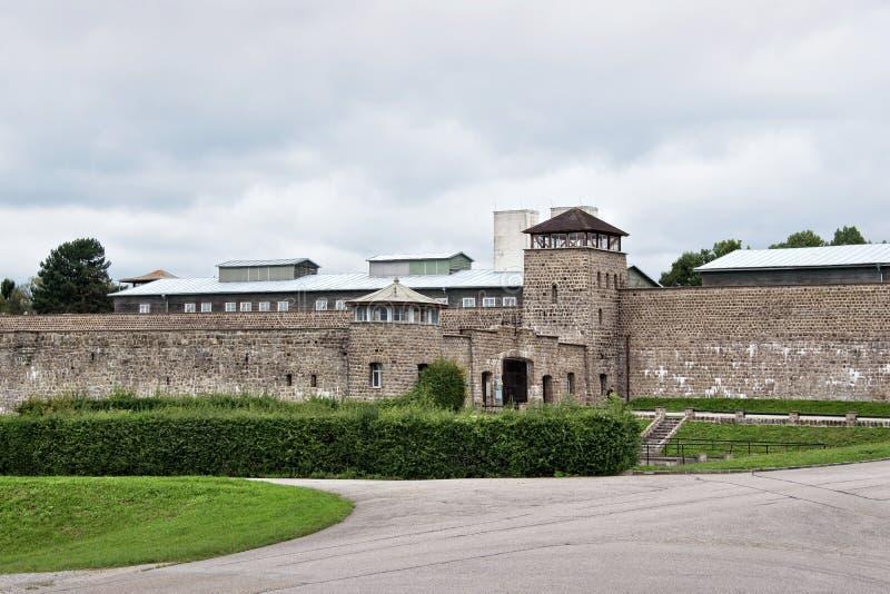 Camp de concentration de Mauthausen photo stock