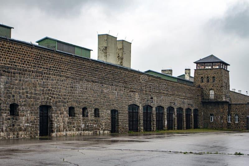 Camp de concentration de Mauthausen, Autriche photographie stock libre de droits