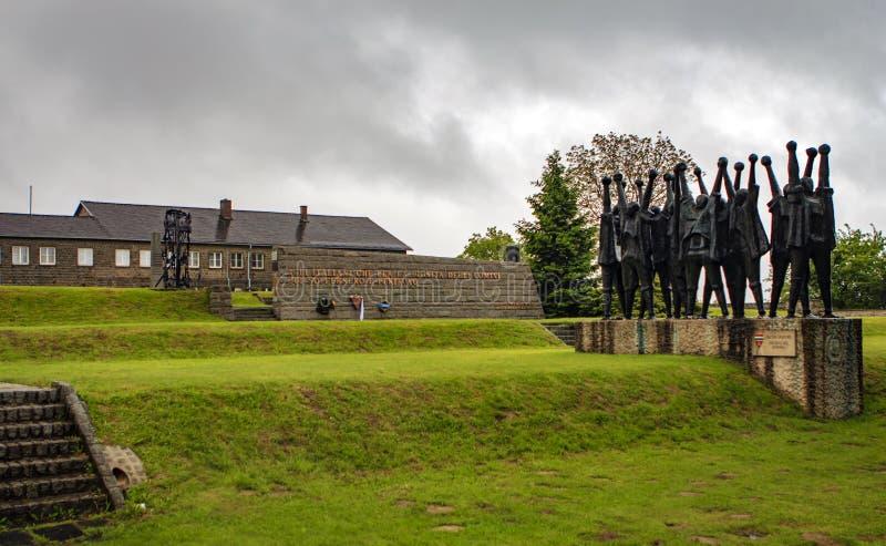Camp de concentration de Mauthausen, Autriche photo libre de droits