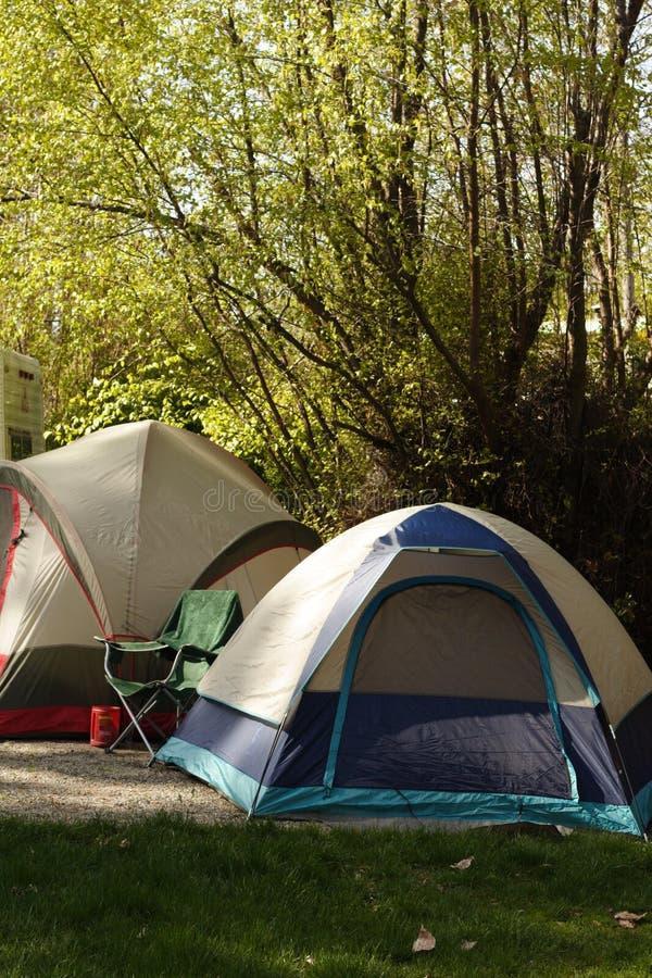 Download Camp De Début De La Matinée Photo stock - Image du paisible, ressort: 732738
