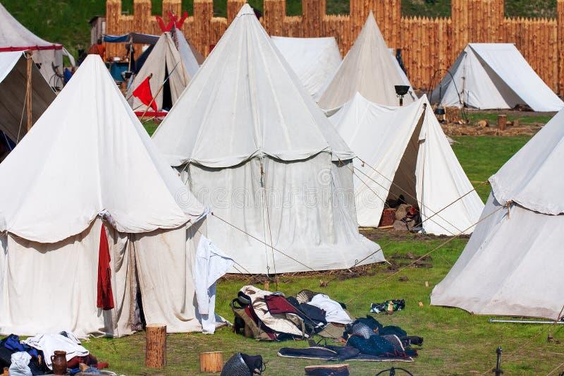 Camp de Knigts images libres de droits