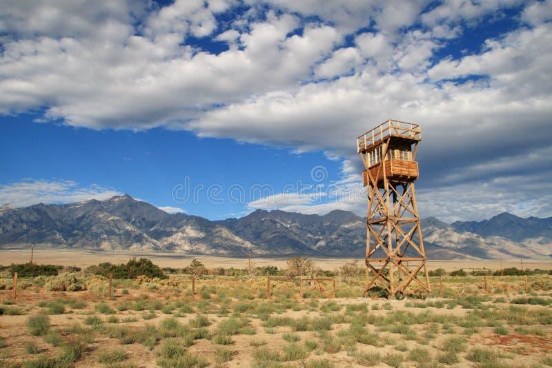 Camp de Manzanar photographie stock libre de droits