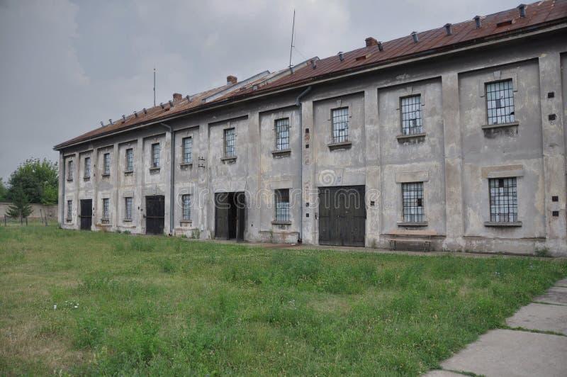 Camp de prisonniers photo stock