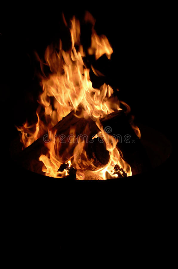 Download Camp Fire Flame Burning Night Royalty Free Stock Photography - Image: 27498527
