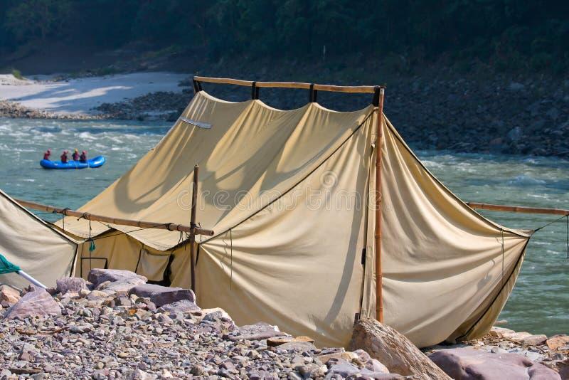 Camp, Inde. image libre de droits