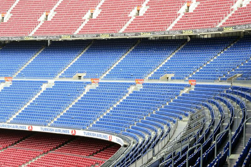 Download Camp Nou editorial photography. Image of grass, blue - 24735602