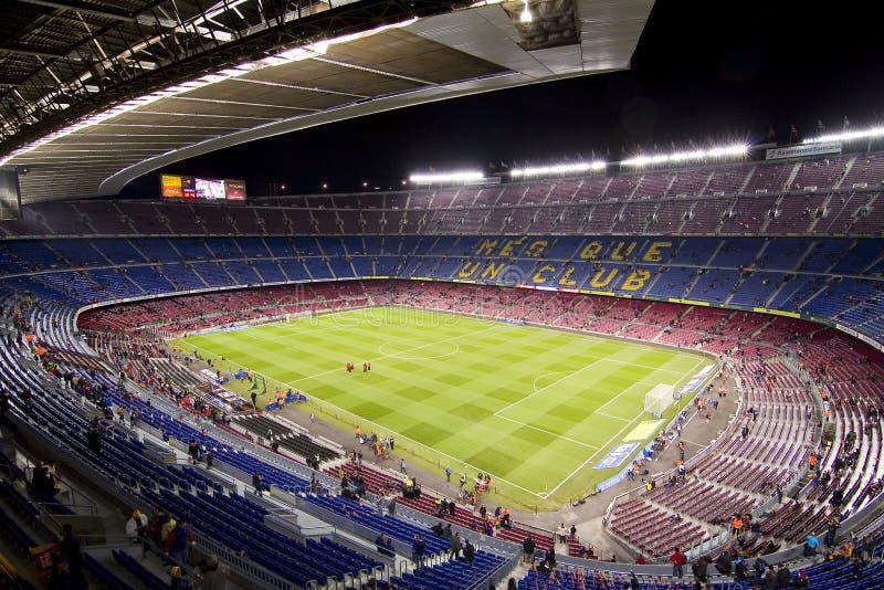 Camp Nou stadion, Barcelona arkivfoto