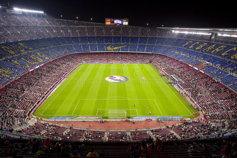 camp nou stadium editorial photography  image of final