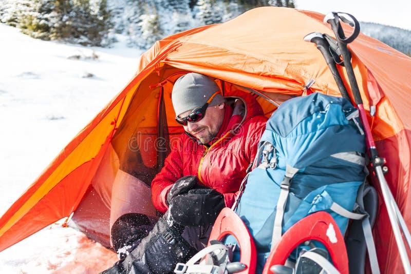campa snow royaltyfria foton
