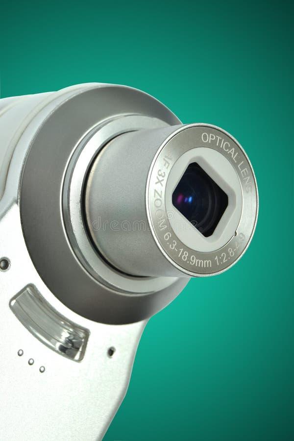 Campact digitale camera royalty-vrije stock afbeelding
