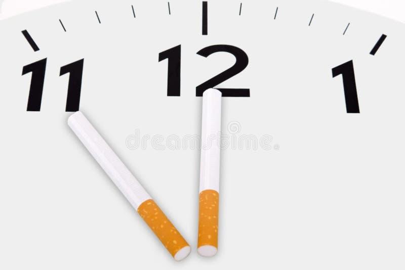 Campagna contro il fumo immagini stock