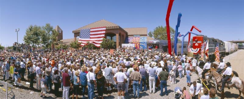 Campagna di George W. Bush fotografia stock