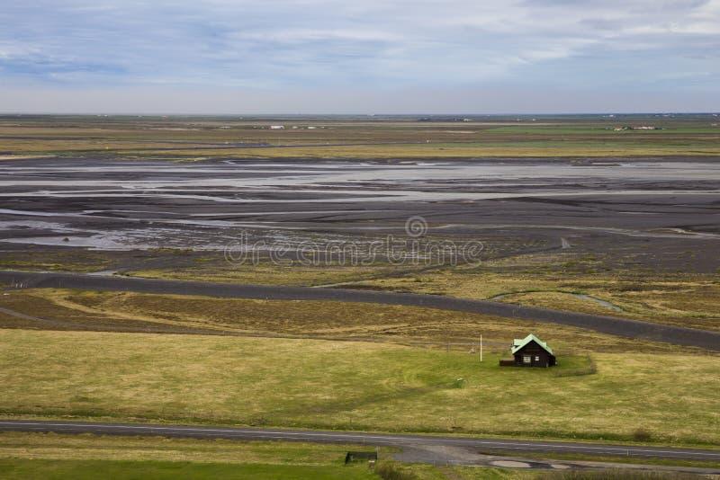Campagna islandese in Islanda fotografia stock libera da diritti