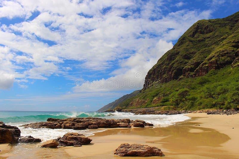 Campagna Oahu fotografie stock