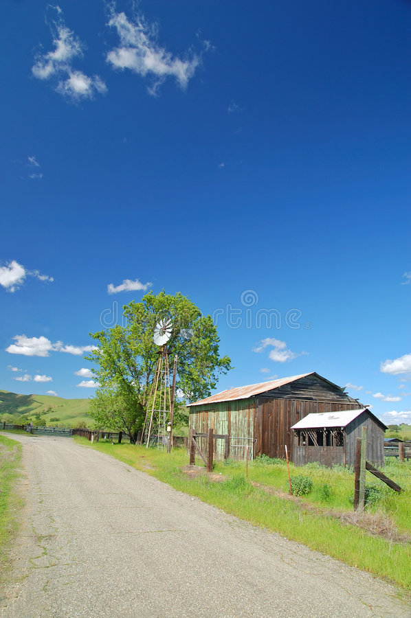 Campagna rurale fotografie stock