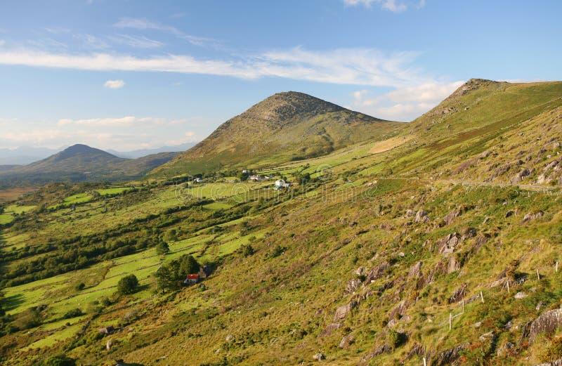 Campagna rurale dell'Irlanda fotografia stock