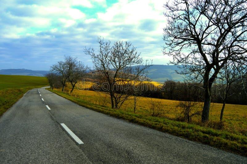 Campagna Slovacchia occidentale immagini stock