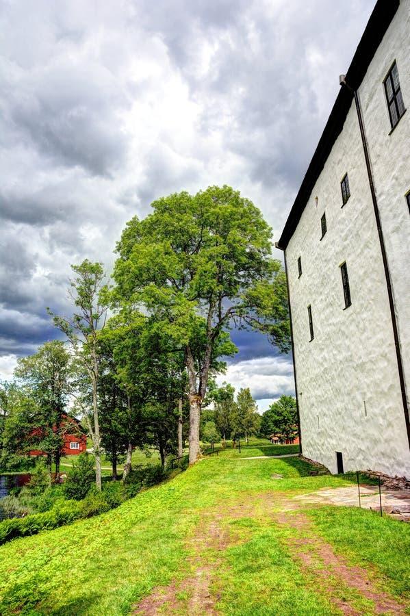Download Campagna in Svezia immagine stock. Immagine di strada - 56893529