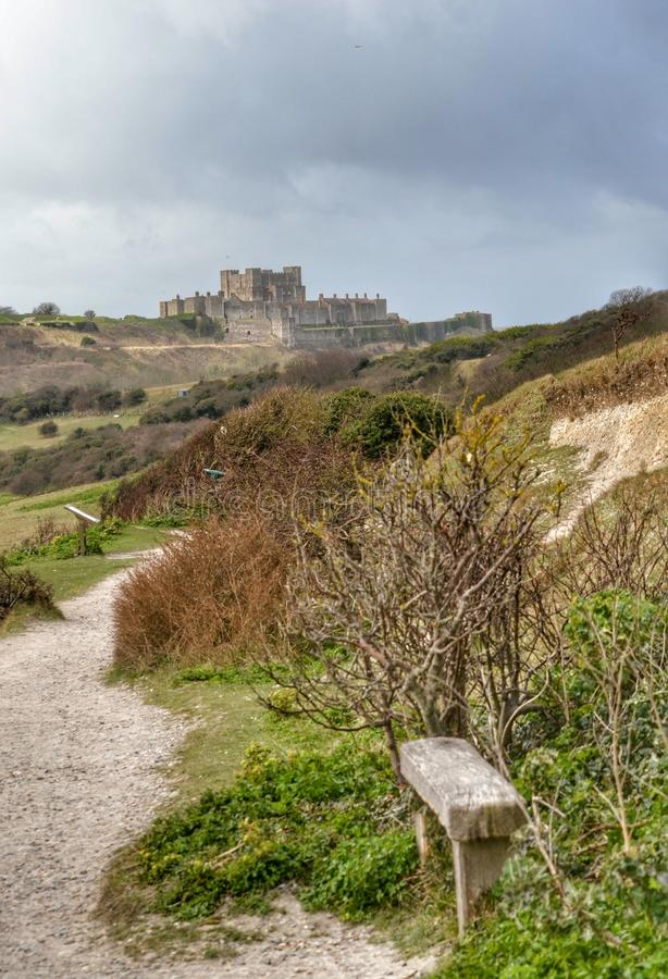 Campagne britannique Dover Castle photo stock