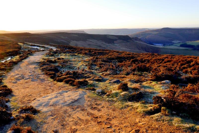 Campagne de Derbyshire image stock