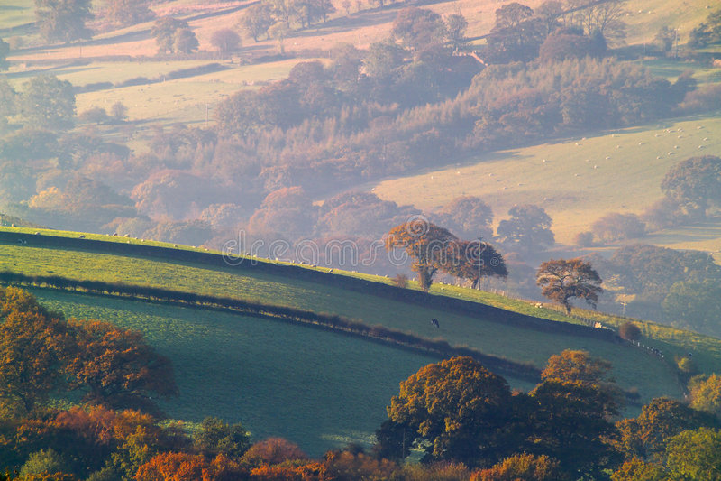 Campagne de Yorkshire images stock