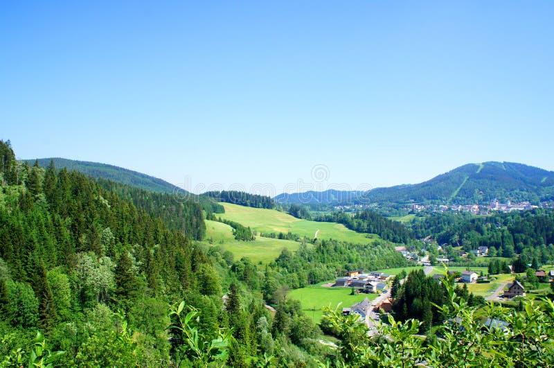 Campagne en Autriche images libres de droits