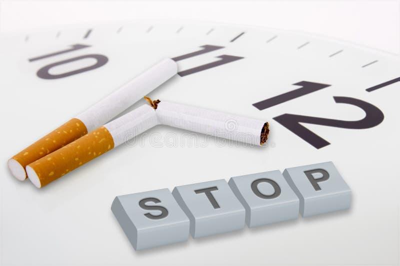 Campagne tegen het roken royalty-vrije stock fotografie