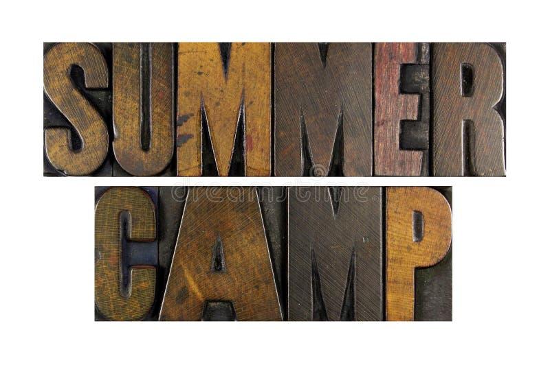 Campamento de verano imagen de archivo