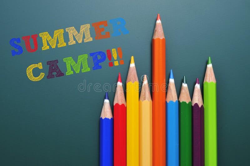 Campamento de verano fotografía de archivo