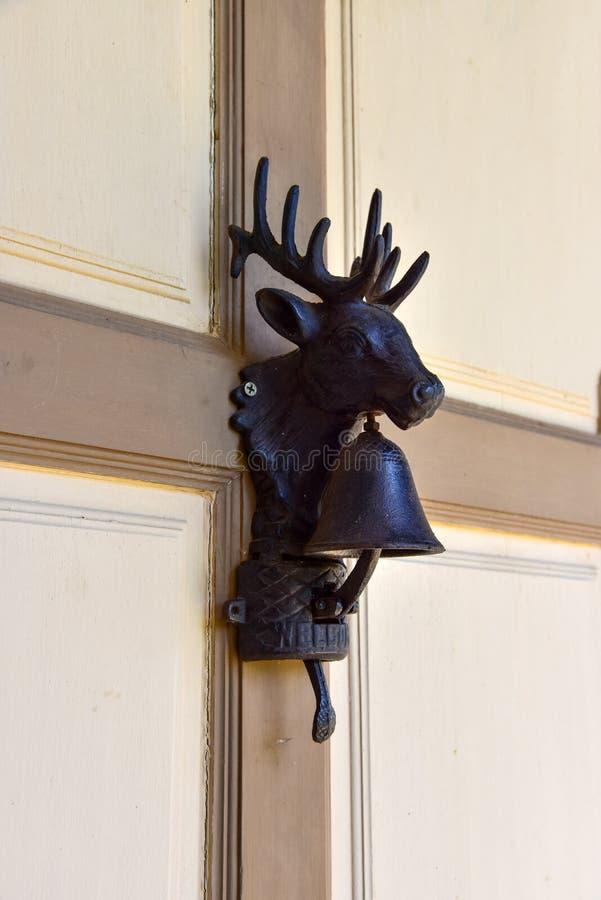 Campana de puerta para la decoración foto de archivo