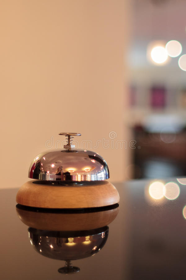 Campana del hotel imágenes de archivo libres de regalías