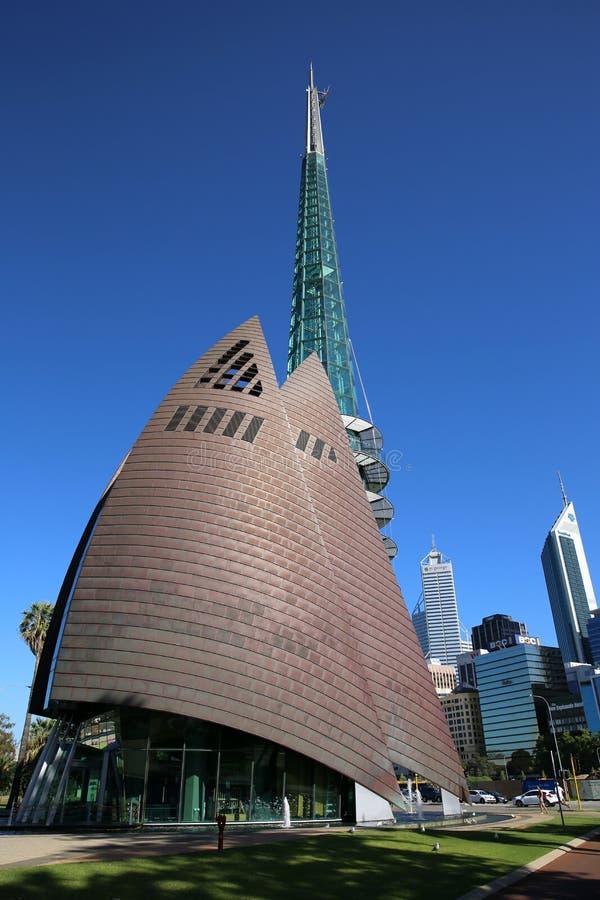 Campanario del cisne de Perth foto de archivo libre de regalías