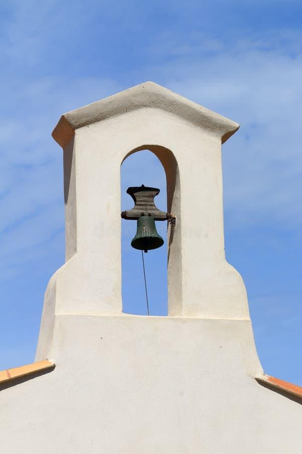 Campanario del La Couronne, Francia de Chapelle de Sainte Croix à imagen de archivo libre de regalías